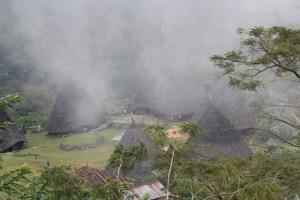 Two Worlds Treasures - Wae Rebo Village from Nampe Bakok (Post 3), Wae Rebo, East Nusa Tenggara, Indonesia.