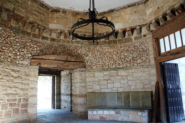 Longhorn Cavern - CCC building interior - Burnet, TX - Two Worlds Treasures