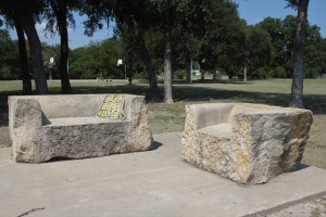 Hanna Springs Scuplture Garden - Lampasas TX - Lampasas Furniture - Two Worlds Treasures