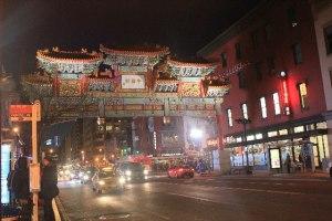 Washington, D.C. during Christmas Break-Chinatown
