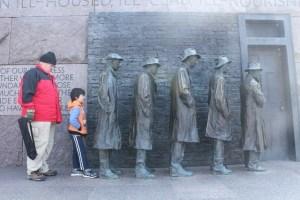 Visiting Washington, D.C. during Christmas Break-FDR-Memorial
