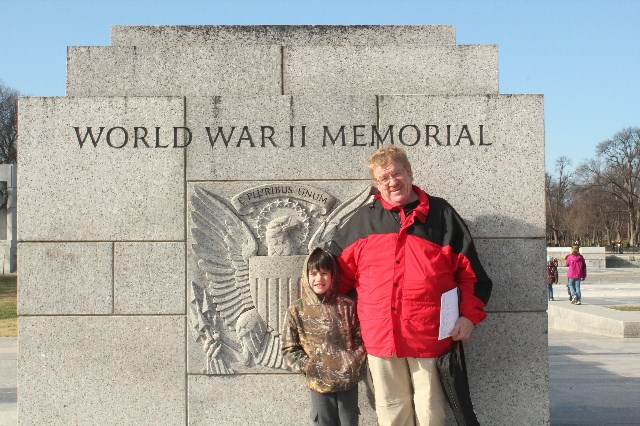 Visiting Washigton, D.c. during Christmas Break-WWII-Memorial