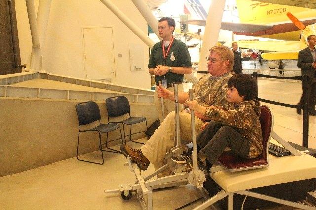 Visiting Washington, D.C. during Christmas Break-Udvar-Hazy-Flight-Simulator