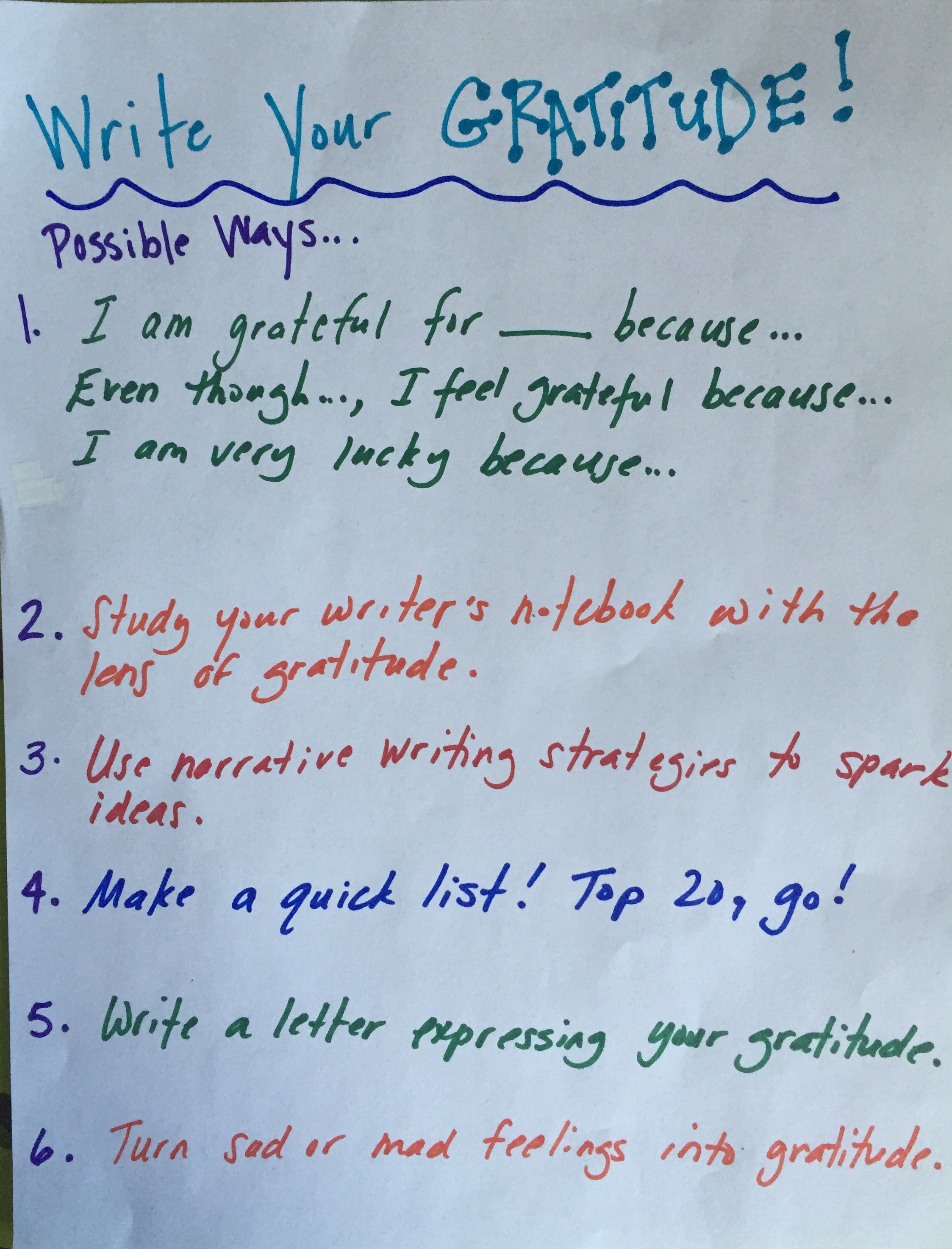 The Antidote To December Stress Teach Students To Write