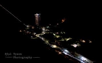 Jamestown Nightscape