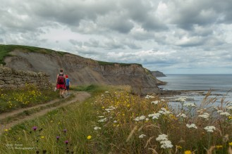 Oliver, Bev and myself tackled the 6 mile walk along the N E Yorks coastal path from Robin hood bay to Whitby, highly reccomended with stunning views throughout.