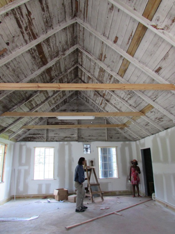 This room will house books for the Ulster Spring community