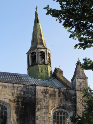 Anglican Church Steeple- I'm told it's one of the oldest in Jamaica
