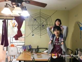萬聖節蜘蛛網