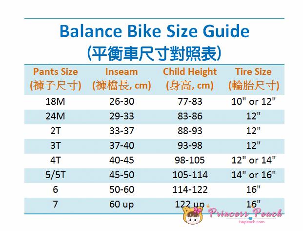 平衡車建議尺寸