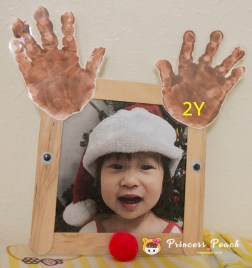 Christmas Footprint Craft