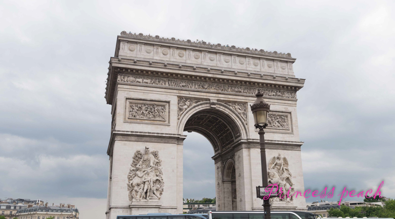 凱旋門 Arc de triomphe de l'Etoile