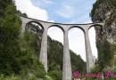 瑞士: 蘭德瓦沙拱橋 (Landwasser Viaduct, Switzerland) + 迴轉鐵道 (Brusio spiral viaduct, Switzerland)