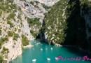 法國: 凡爾登大峽谷 & 聖十字湖 (Gorges du Verdon & Sainte-Croix du Verdon, France)