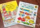 [英文繪本] 2Y 娃的書櫃 – 小孩視角看社會的 What Do People Do All Day? (工作大未來)