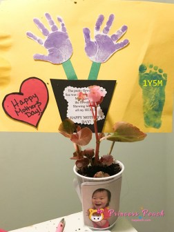Mother's Day Hand/Footprint Craft