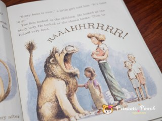 Library Lion 圖書館獅子