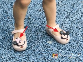 mini melissa disney twins