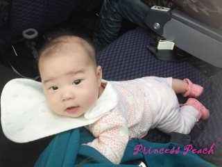 4m 茉莉搭飛機