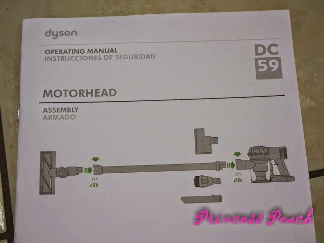 Dyson-DC59-說明書