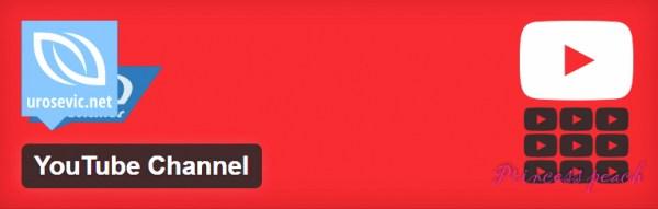 YouTube Channel Plugin