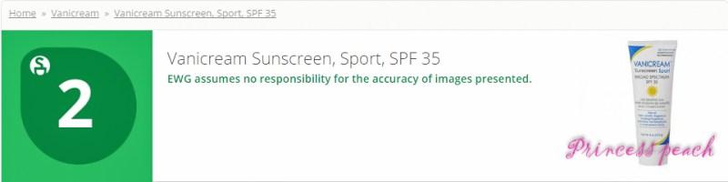 Vanicream Sunscreen Sport SPF 35