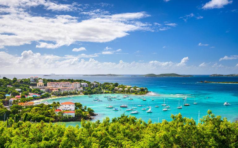 Cruz Bay, St John, United States Virgin Islands