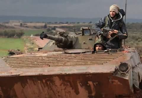 هجوم ليلي.. الثوار يعودون سريعا إلى مواقعهم في جبل الأكراد