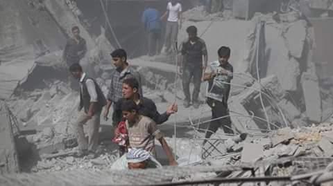 مجزرة ضحيتها 9أشخاص في بلدةالتبني بديرالزور