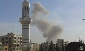 قصف بالصواريخ العنقودية على مدينةدوما وعددالضحايا يزداد