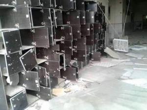 تخريب جامعة الفرات من قبل PYD