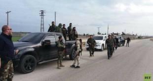 قصف تركي يقتل ويصيب عناصر من قوات الأسد كانوا في طريقهم إلى عفرين