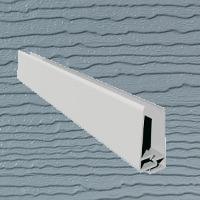 6mt Embossed Cladding 2 Part U-Channel Light Grey