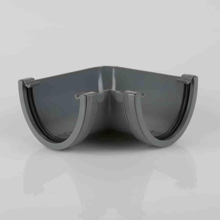 Deepstyle 90' Gutter Angle Light Grey
