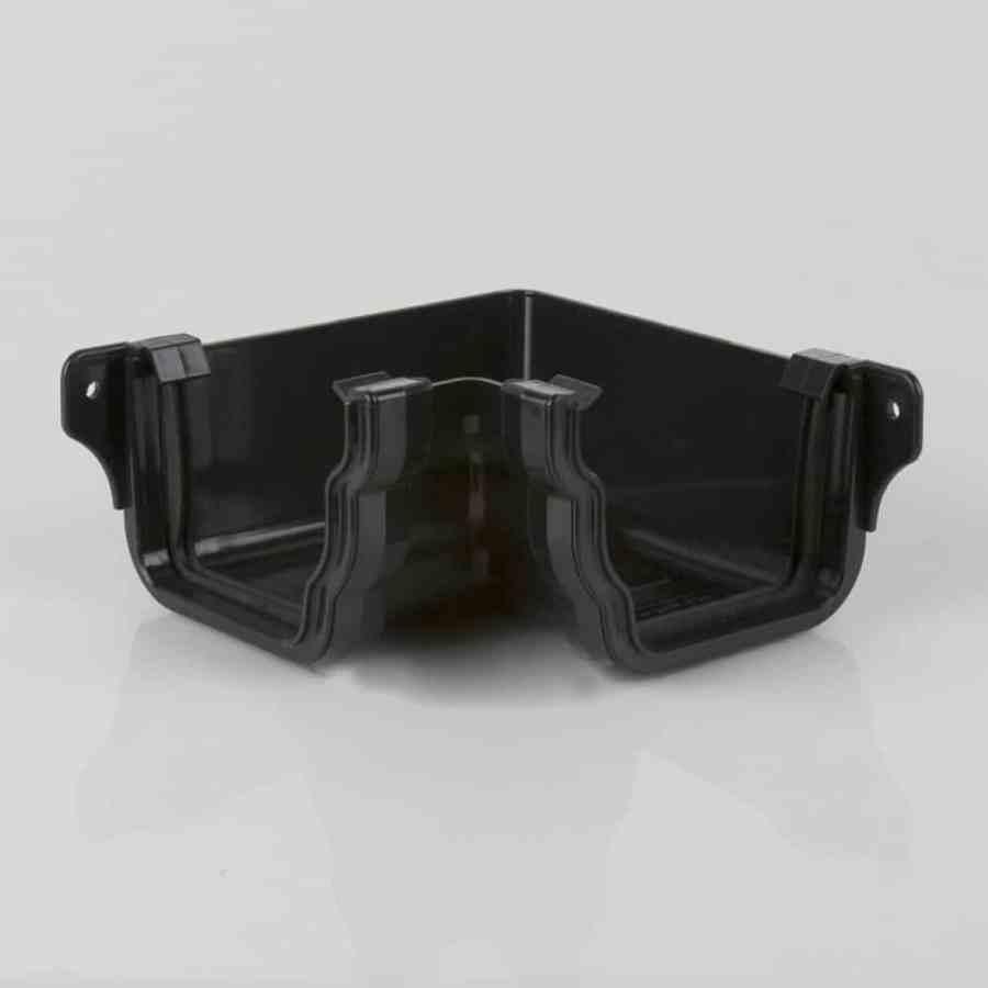 Internal 90d Angle 106mm Ogee Prostyle Black