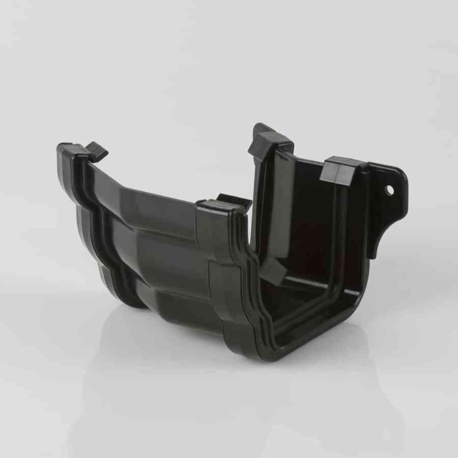 External 150d Angle 106mm Ogee Prostyle Black