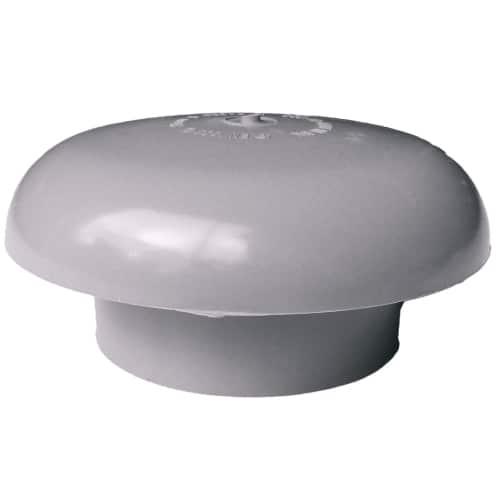 110mm Mushroom Vent Cowl Grey