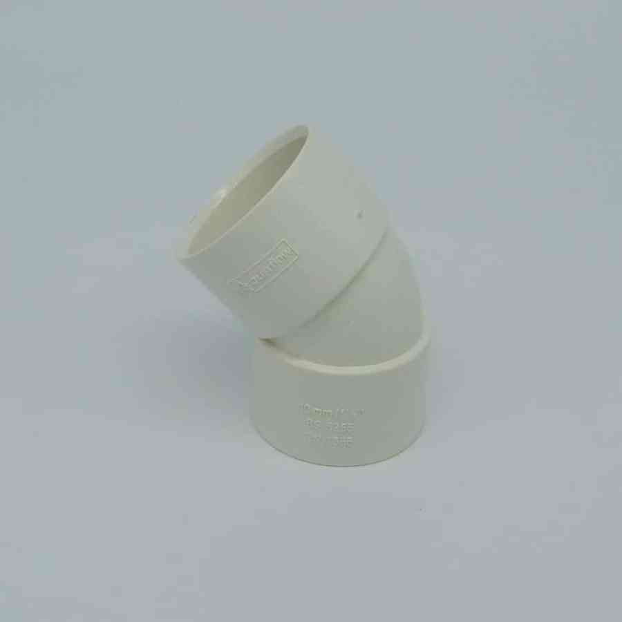 40mm solvent weld 45 bend white