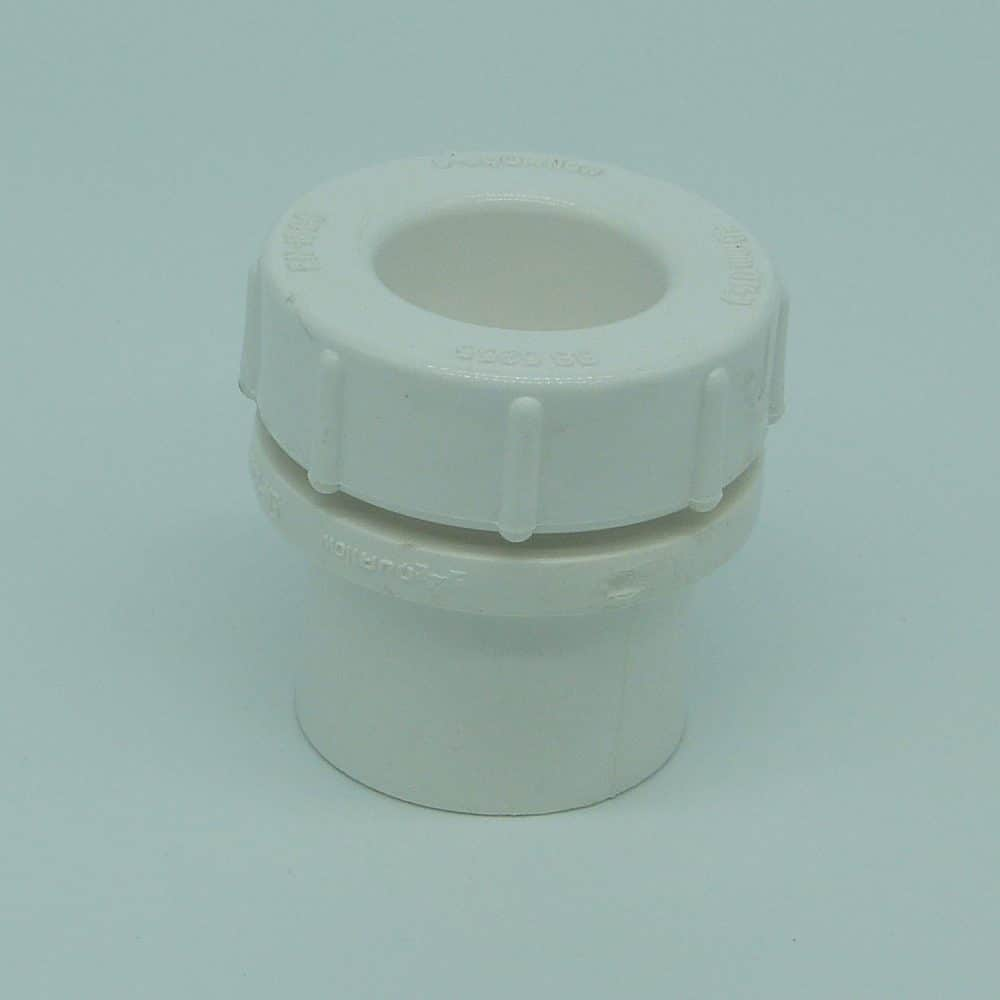 40mm solvent weld screw access cap white