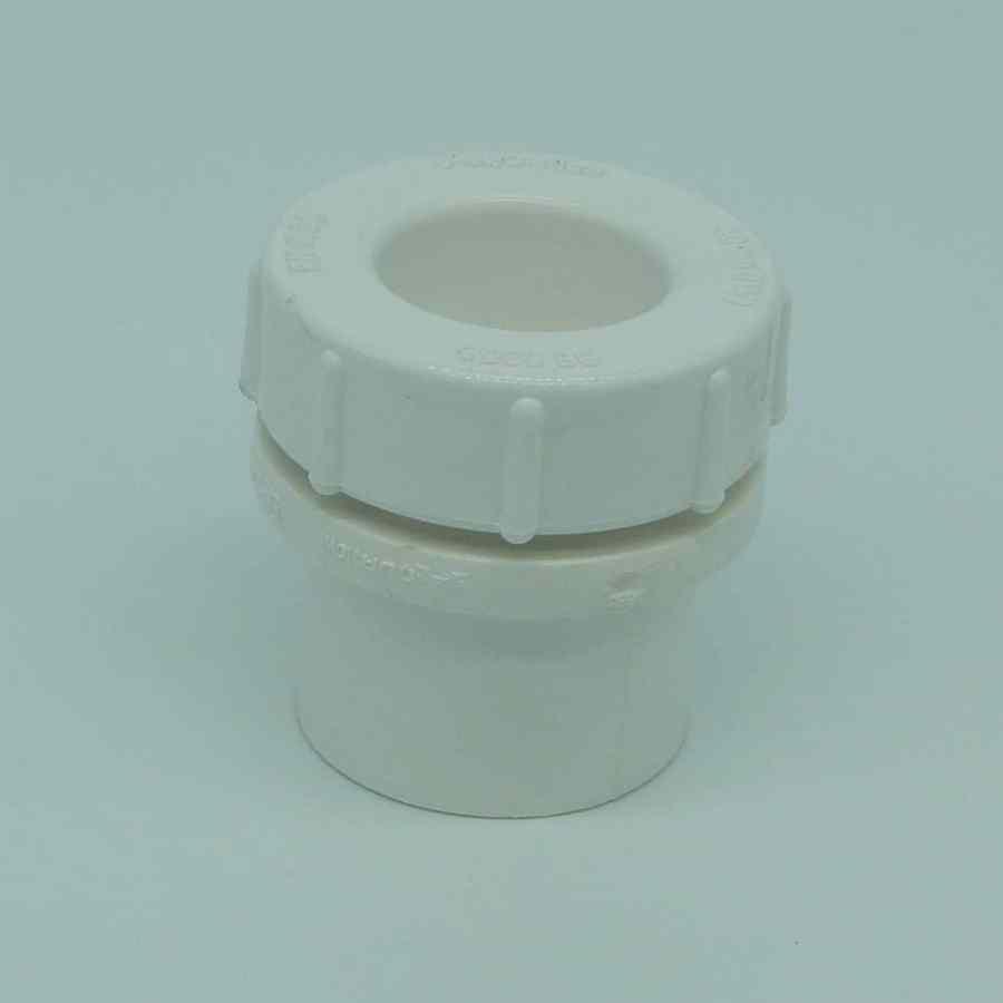 40mm solvent weld screw access cap white