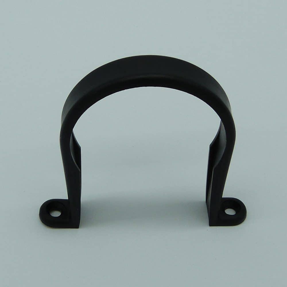 50mm Pipe Clip Black