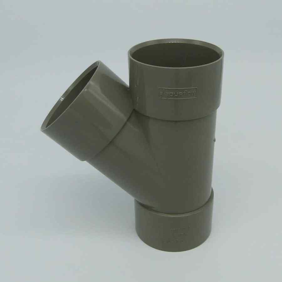 "50mm Solvent Weld 135' ""Y"" Branch Grey"
