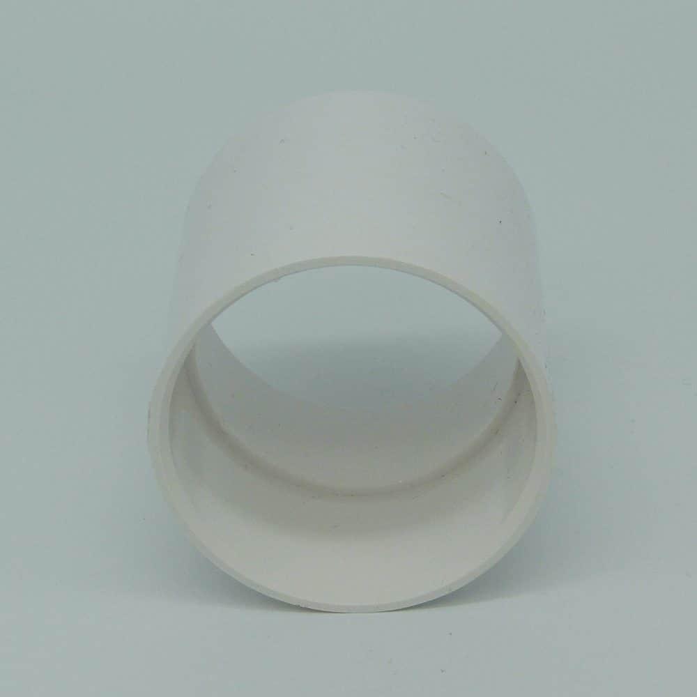 50mm Solvent Weld Coupler White