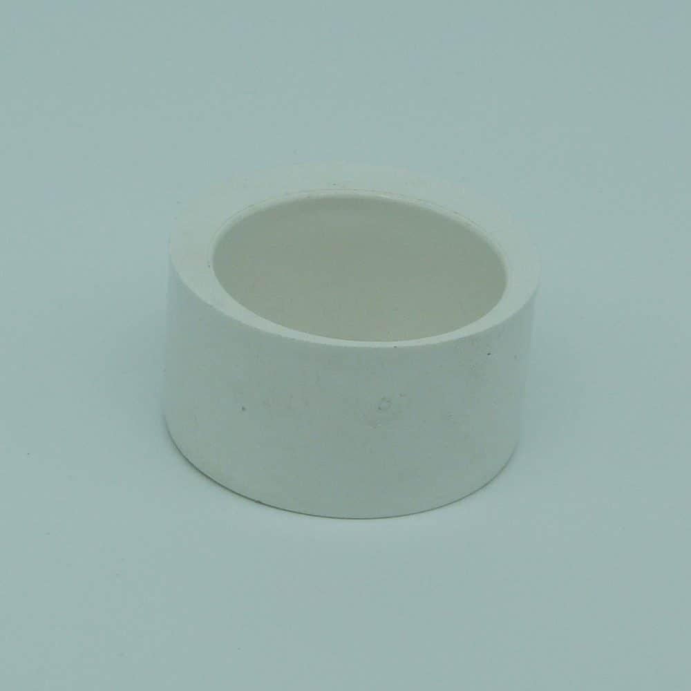50mm - 40mm Solvent Weld Reducer White