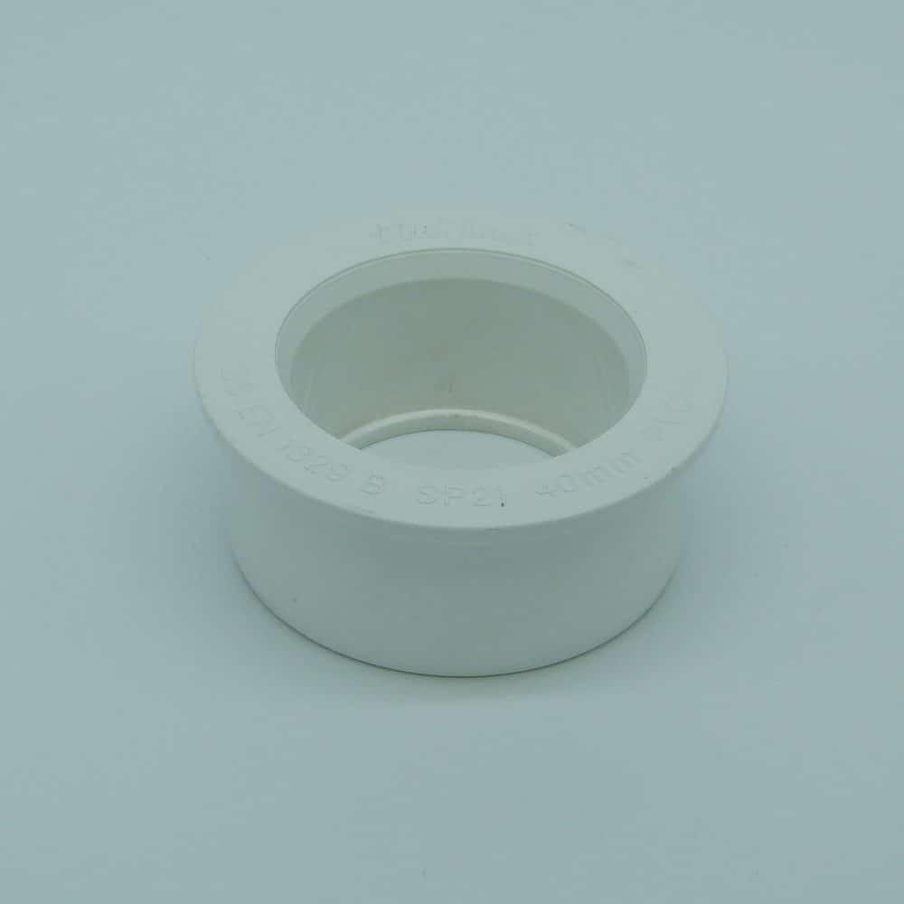 Solvent 63mm - 40mm Boss Reducer White