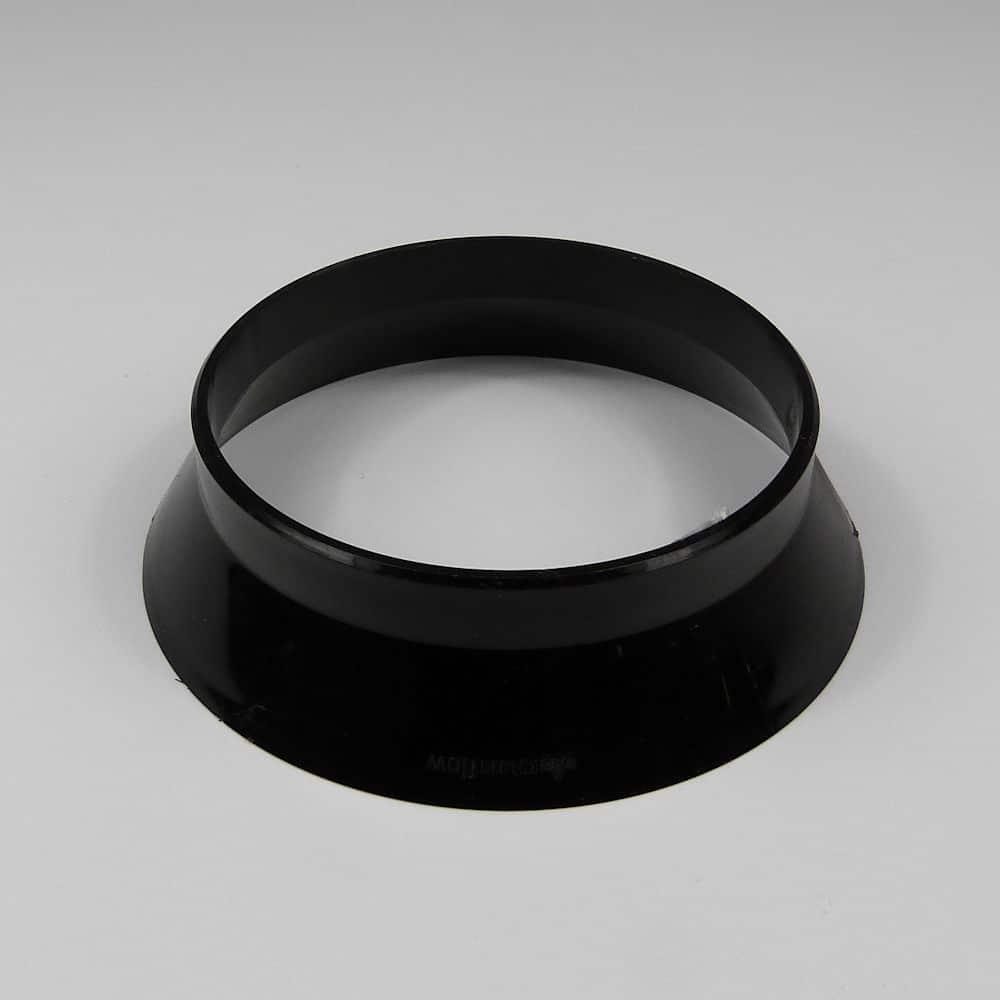 110mm Soil Weathering Collar Black Aquaflow