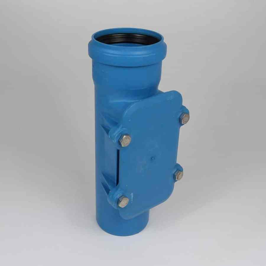 110mm acoustic push fit soil access pipe ss