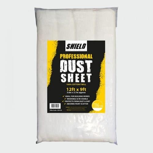 Cotton Dust Sheet 12ft x 9ft