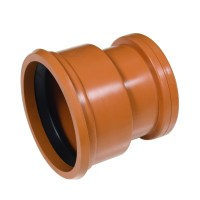 110mm Underground Pvc - Supersleve Clay Connector D100