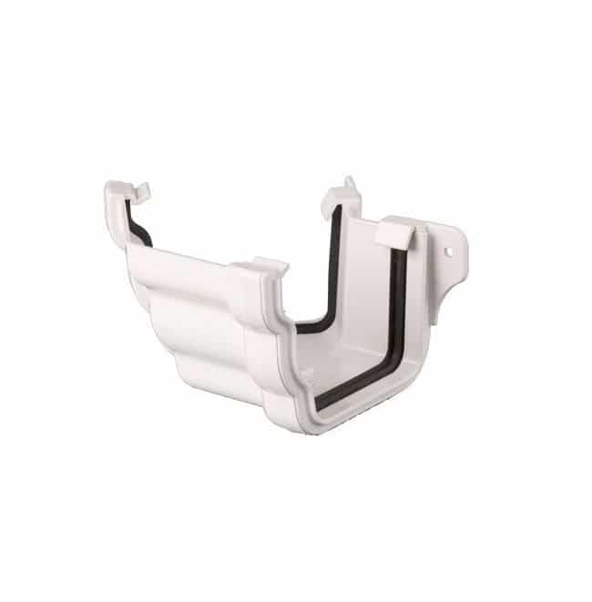 106mm Prostyle Ogee Guttering External 135 degree Angle White BR089EA